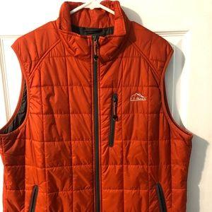 LL Bean Primaloft Packaway Vest - Size Large